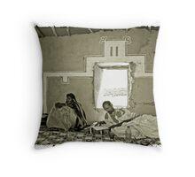 Ouadane, Mauritania #13 Throw Pillow