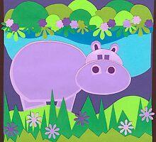 Loretta Hippo by Lisa  McHugh