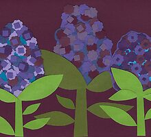 Hyacinths by Lisa  McHugh