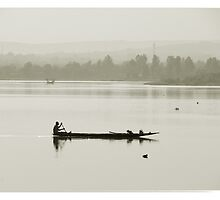 Niger river, Mali #3 by Mauricio Abreu