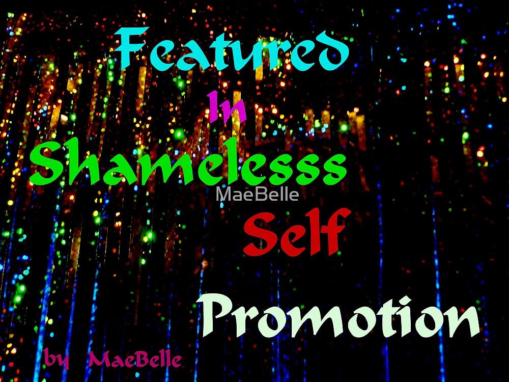 Banner Shameless Self Promotion by MaeBelle