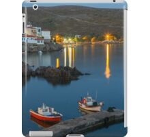 Sunset in Albert Camy's village iPad Case/Skin