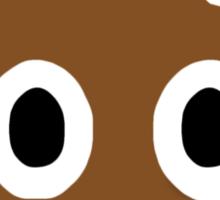 Pile of Poo Emoji  Sticker