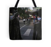 rush hour. morning, melbourne Tote Bag