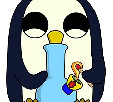 Mischievous Gunter With the Bong by HighlyAnimated