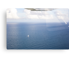 Lonely Sail Canvas Print