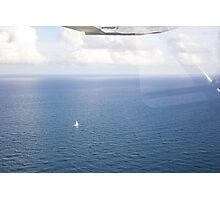 Lonely Sail Photographic Print