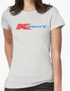 Vintage 80's 90's K-Mart Logo Distressed Womens Fitted T-Shirt