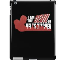 The Devil of The Kitchen  iPad Case/Skin