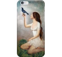 The Moon Asked The Crow iPhone Case/Skin