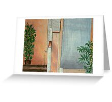 Under The Stairs Greeting Card