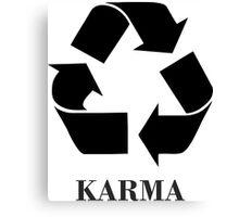 Karma <-> Canvas Print