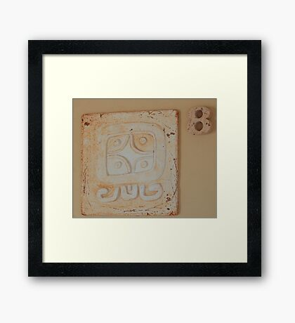 Mayan Art Framed Print