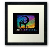 Soundsational Framed Print
