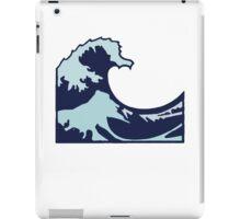 Wave Emoji iPad Case/Skin