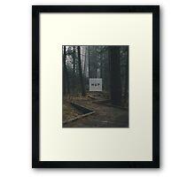 Huf Forest Framed Print