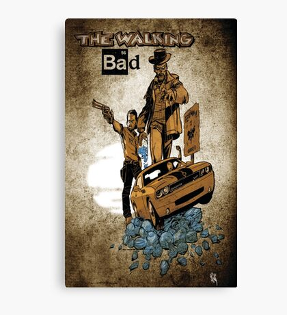 The Walking Bad Canvas Print
