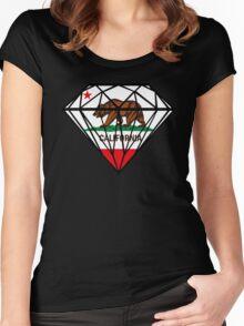 Diamond Republic of California Women's Fitted Scoop T-Shirt