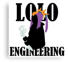 Lolo Engineering Canvas Print
