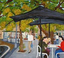 Café Society, Pyrmont, NSW Australia  by C J Lewis
