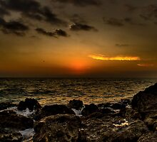 Sunset @ Casperson Beach, Florida by Christopher Morrow