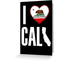 I Heart Cali Greeting Card
