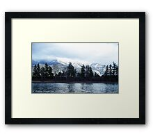 Springtime in Montana Framed Print