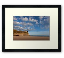 The Great Tor on the Gower peninsular Framed Print