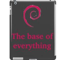 debian - the base of everything iPad Case/Skin