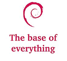 debian - the base of everything Photographic Print