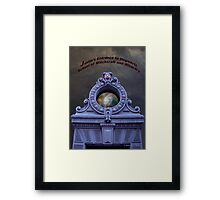 Justin's Entrance Framed Print