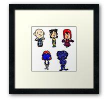 X-men Together Framed Print