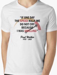 RIP PAUL WALKER Mens V-Neck T-Shirt