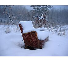 A comfortable seat Photographic Print