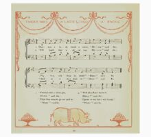 The Baby's Opera - A Book of Old Rhymes With New Dresses - by Walter Crane - 1900-44 There Was a Lady Loved a Swine Kids Tee