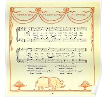 The Baby's Opera - A Book of Old Rhymes With New Dresses - by Walter Crane - 1900-44 There Was a Lady Loved a Swine Poster