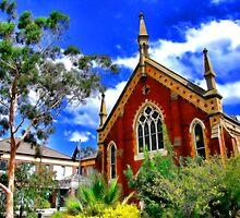 Church. Albury, NSW, Australia. by vadim19