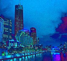 Yarra River, Melbourne, Australia by vadim19