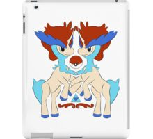 royal keldeo large iPad Case/Skin