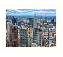 City of Melbourne, Australia Art Print