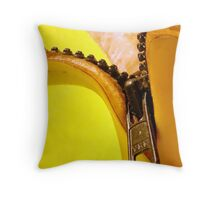 New & Improved Packaging Throw Pillow