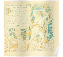 The Baby's Own Aesop by Walter Crane 1908-29 The Trees and the Woodman Poster