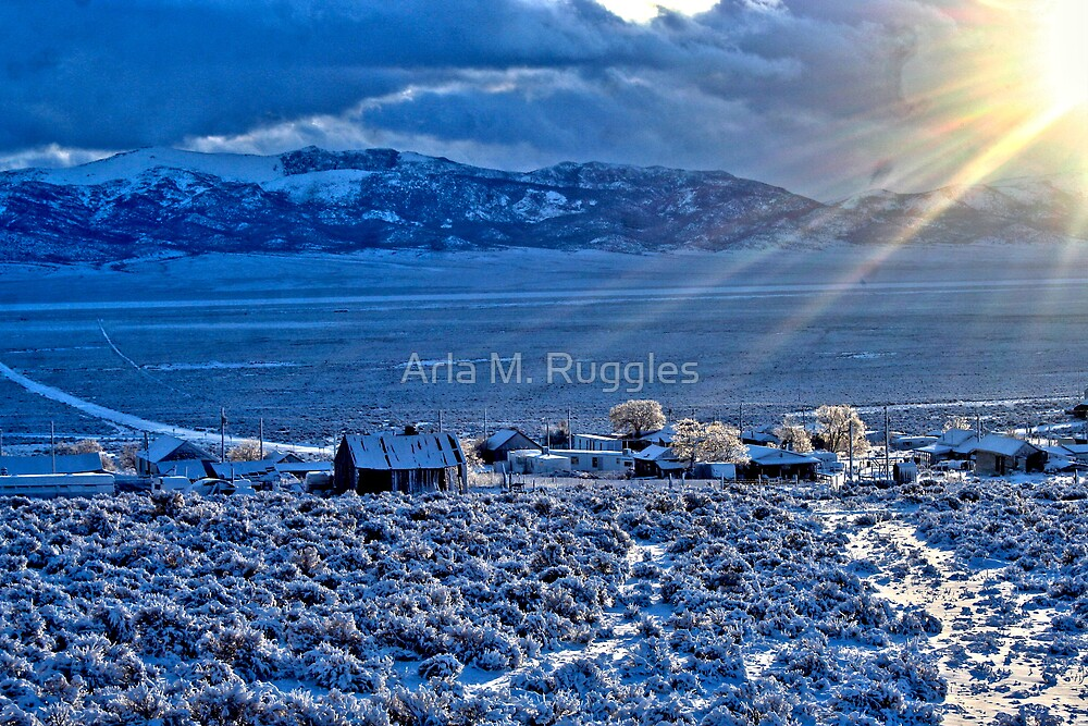 Frosty Morning by Arla M. Ruggles