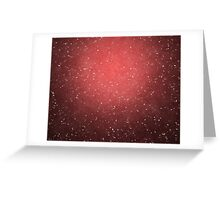 red grunge background Greeting Card