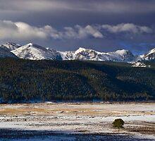 Winter Along The Range by John  De Bord Photography