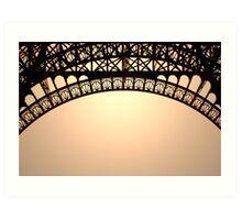 Eiffel trifle Art Print
