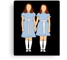 The Shining - Twins Canvas Print