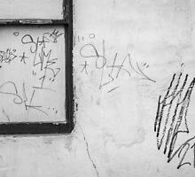 Harrisburg Graffiti by Mary Fox