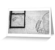 Harrisburg Graffiti Greeting Card