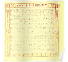 The Baby's Boquet - A Fresh Bunch of Old Rhymes and Tunes - by Walter Crane - 1900-22 Buy a Broom Poster